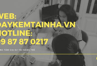 Tìm dịch vụ gia sư tại quận Gò Vấp