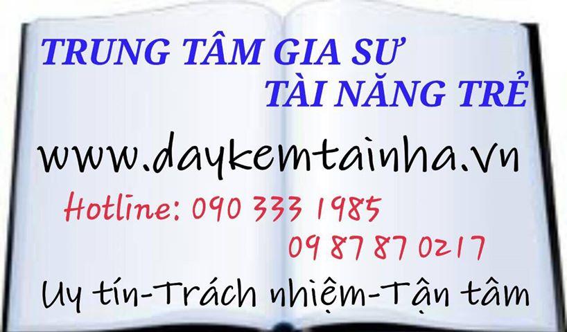 Tìm dịch vụ gia sư tại quận Tân Bình