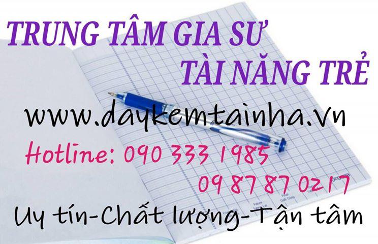 Tìm dịch vụ gia sư tại quận Tân Phú