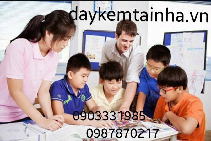 Cần gia sư dạy tiếng Anh tại quận 4