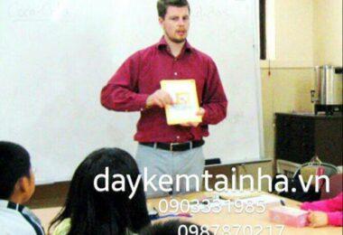 Cần gia sư dạy tiếng Anh tại quận 7