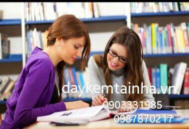 Cần gia sư dạy tiếng Anh tại quận 9